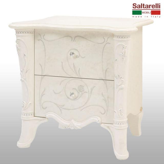 Bedside Table / ナイトテーブル|Saltarelli : イタリア|TBL0024SRL