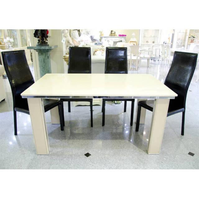 大理石ダニングテーブルセット|IB Selection|TBL0028