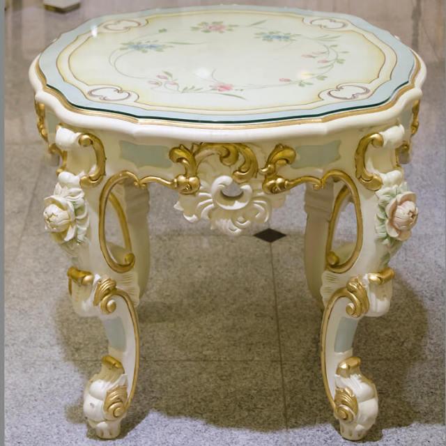Table / クラック仕上げテーブル - クラシック|IB Selection|TBL0036