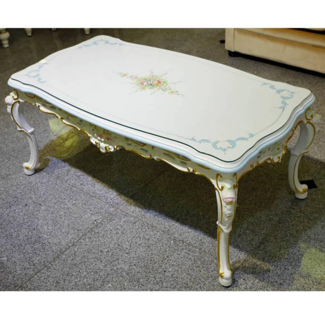 Center Table / センターテーブル - クラック仕上げ|IB Selection|TBL0041