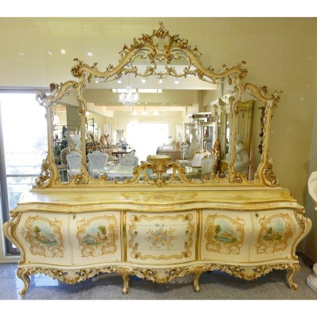 Mirror Cabinet/ ミラーキャビネット- イタリア|IB Selection|MRR0007