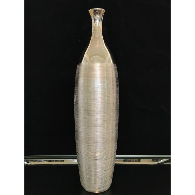Flower Vase / フラワーベース|花瓶|シルバー|OBJ0083