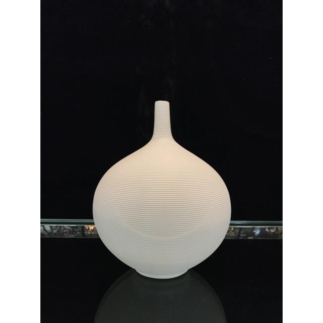 Flower Vase / フラワーベース|陶器花瓶 |マット仕上げ|球体型|OBJ0075