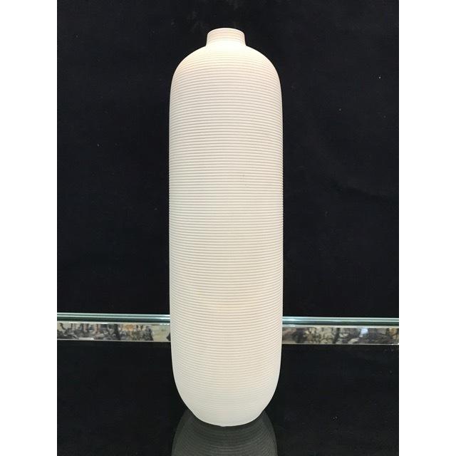 Flower Vase / フラワーベース|陶器花瓶 |マット仕上げ|円柱型|OBJ0078