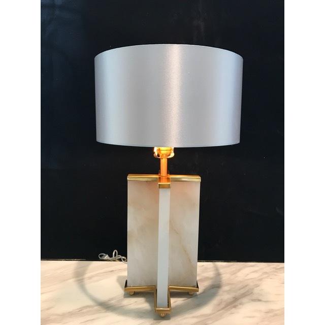 Lamp/ランプ|シェード付き|天然大理石|LMP0023