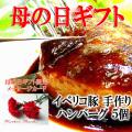 母の日肉ギフトにイベリコ豚ハンバーグ