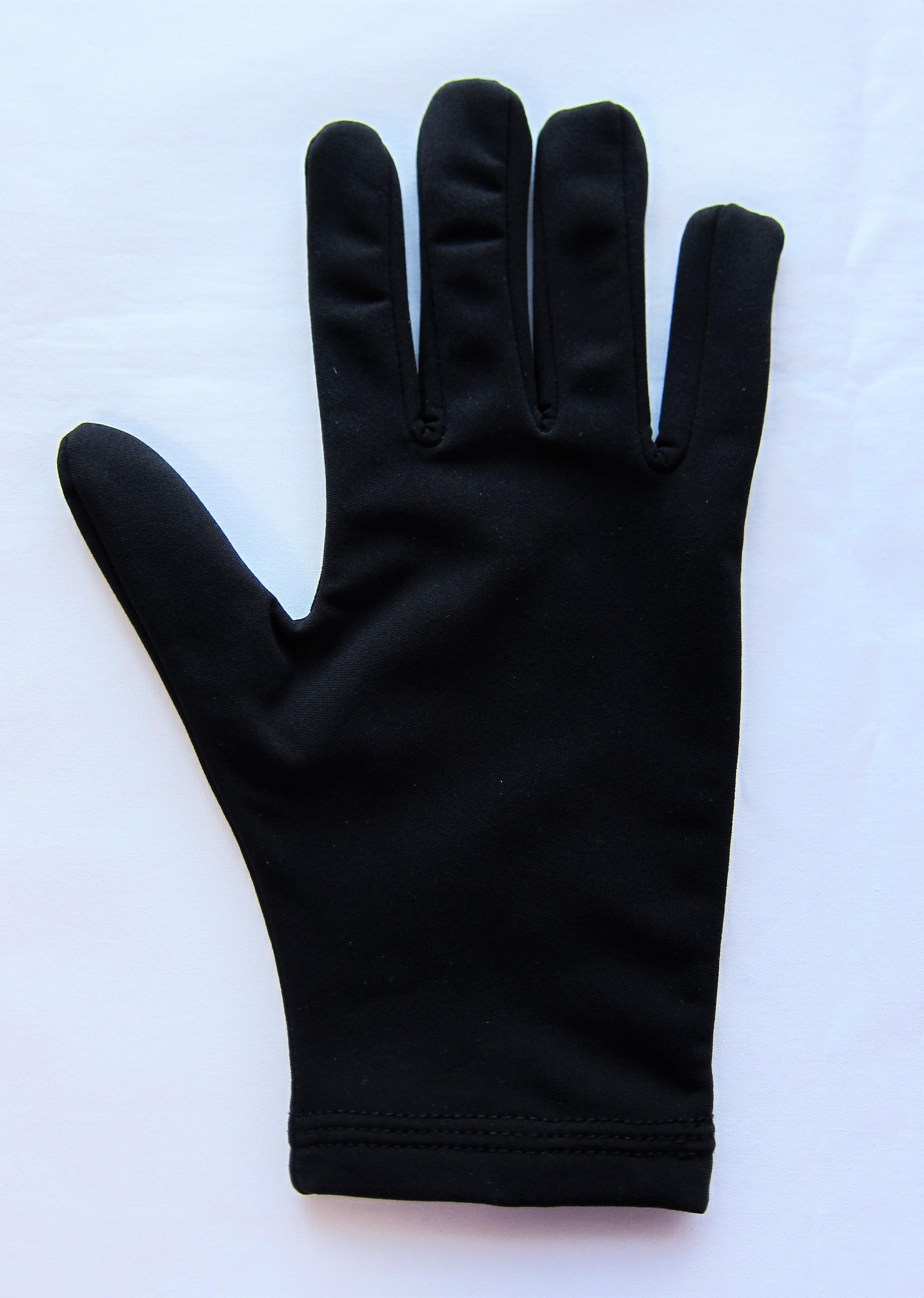 M-6001 撥水手袋 ブラック