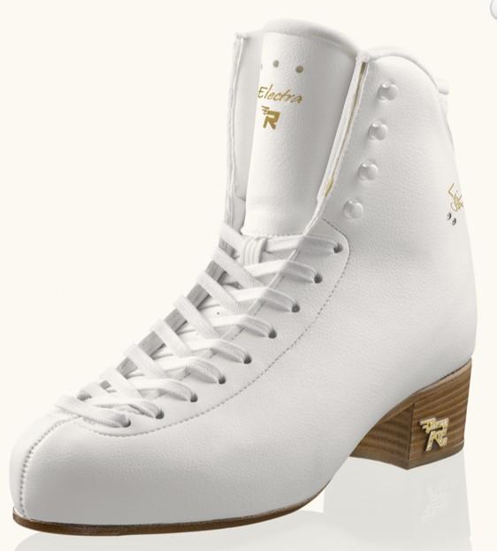 5%オフ! エレクトラ ライト(初級~6級用) 靴のみ 白  21.0cm(表示220)