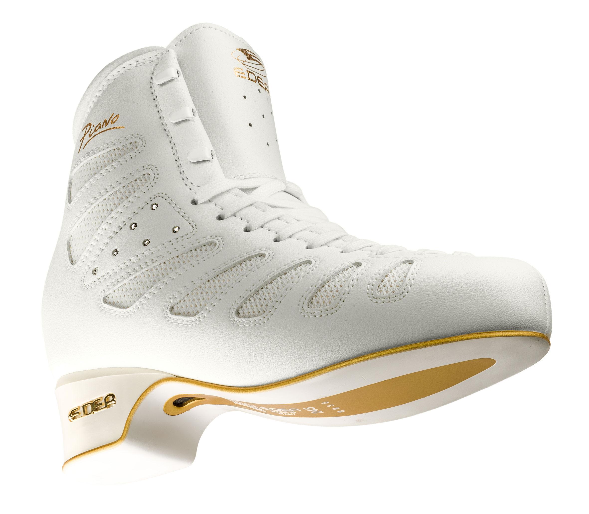 ピアノ 白  6~7級用スケート靴