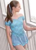 J19-138 スターリング・ブルック・ドレス コーブブルー 12-14(150cm)・Medium(9号)・Large(11号)