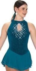 50%オフ!J18-233 スパークル&スプレンダー・ドレス(ストーン付き) 12-14(150cm)
