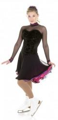 XD118 エトワール・ノワール・クラシーク・ダンス・ドレス ブラック Medium(9号)
