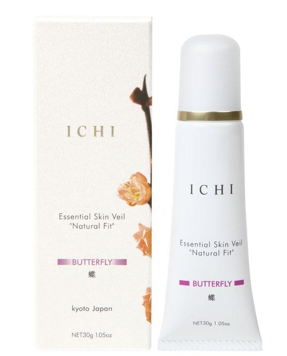 "ICHIエッセンシャルスキンヴェール""ナチュラルフィット「蝶」 (30g X 1本): Essential skin veil(BUTTERFLY)"