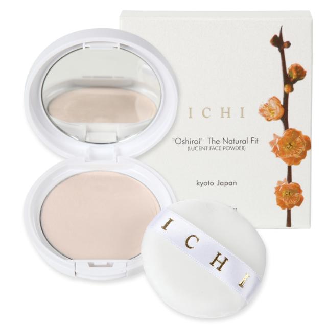 ICHIオシロイ・ザ・ナチュラルフィット プレストタイプ 10g : Lucent face powder(pressed)