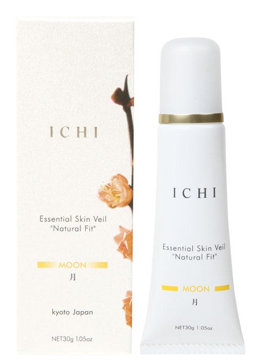 "ICHIエッセンシャルスキンヴェール""ナチュラルフィット (30g X 1本): Essential skin veil(MOON)(BUTTERFLY)"
