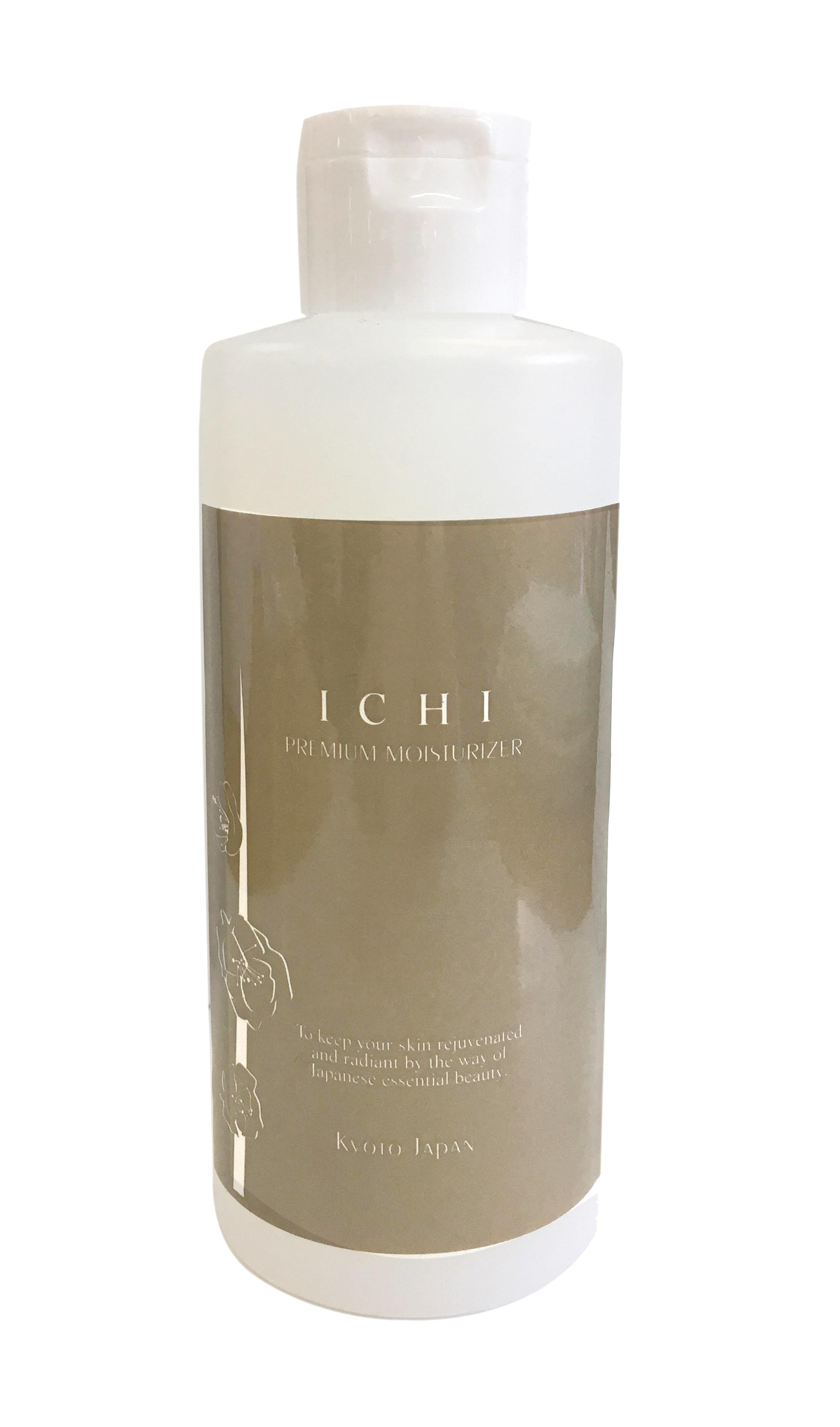 ICHIプレミアムモイスチャライザー200mL:Premium moisturizer 定価12,800円(税抜)⇒【約15%OFF 10,800円】