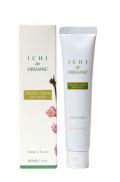 ICHIオーガニックグリーンスキンウォッシュ40g (日本製泡立てネット付):Organic green skin wash