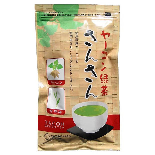 ヤーコン緑茶さんさん