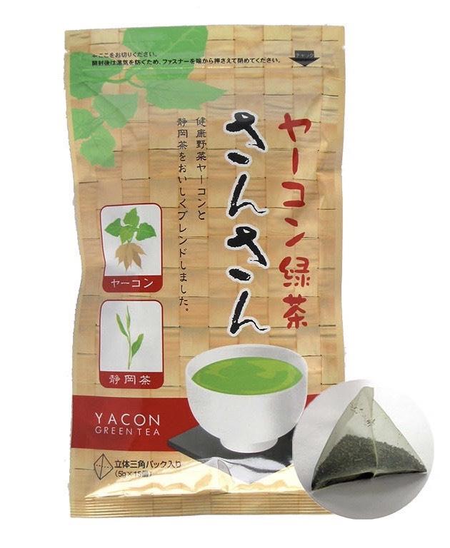 ヤーコン緑茶さんさん (定期購入)