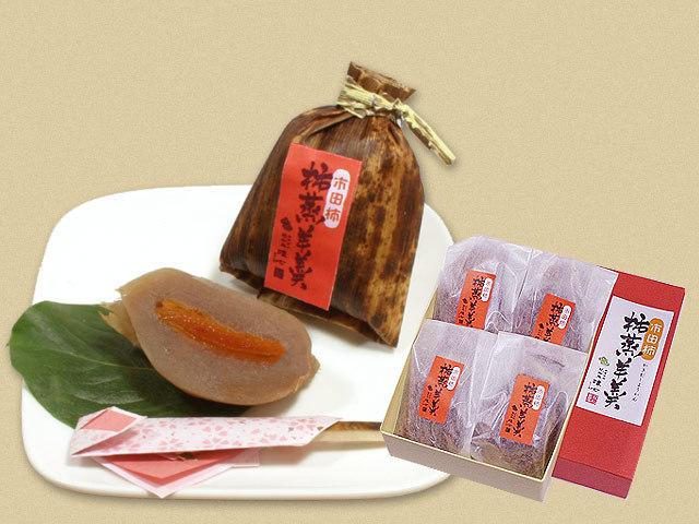 4個入り柿蒸し羊羹1840円