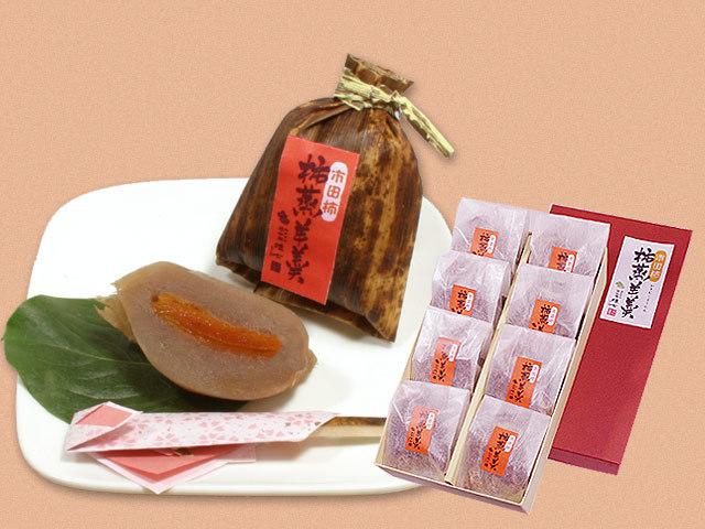 8個入り柿蒸し羊羹3530円