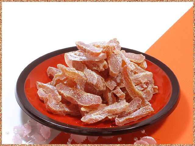 市田柿のチップス