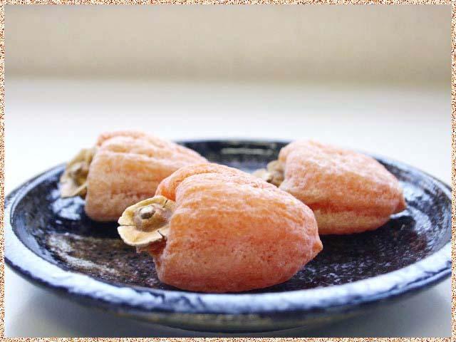 市田柿の皿盛500g用