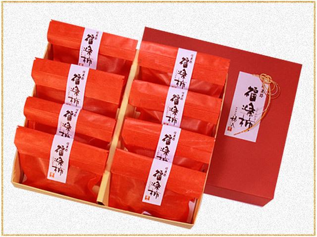 福楽柿8個パッケージ
