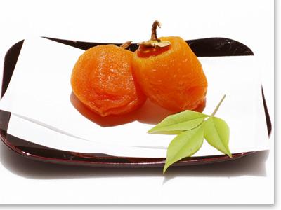 市田柿の蔵出し冷凍「あんぽ柿」