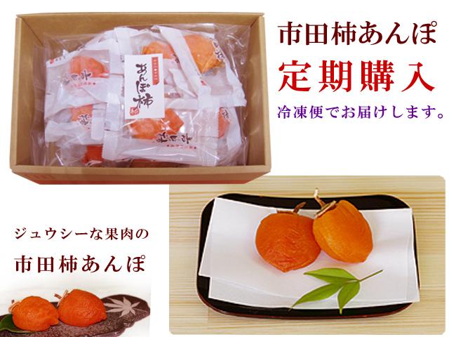 定期購入市田柿あんぽのトップ画像
