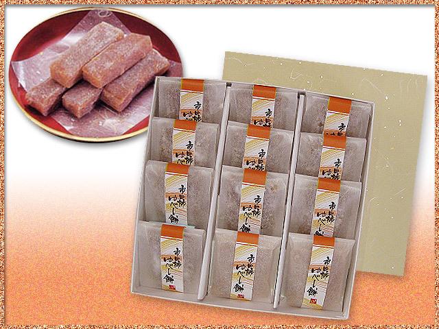 市田柿の柿ゆべし餅12個