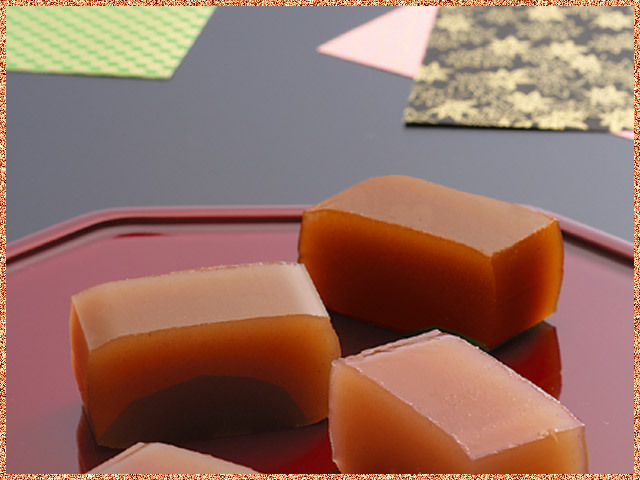 柿羊かんのイメージ柿羊羹3棹用
