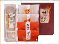 市田柿の和菓子詰合せ、柿だより「霞(かすみ)」