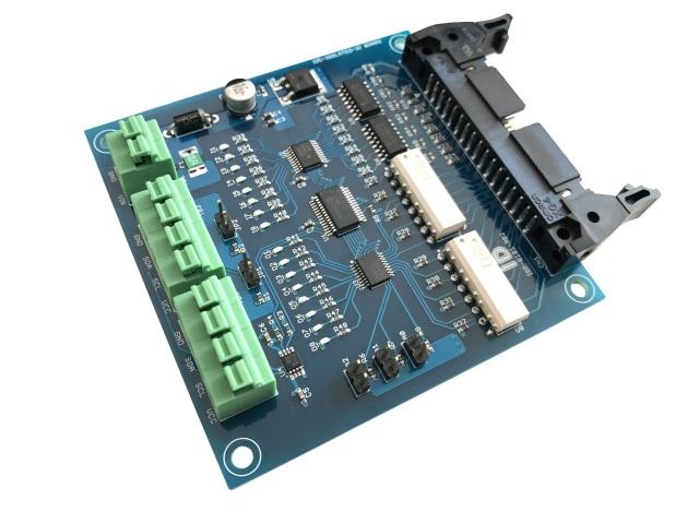 I2C接続絶縁デジタル入出力ボード