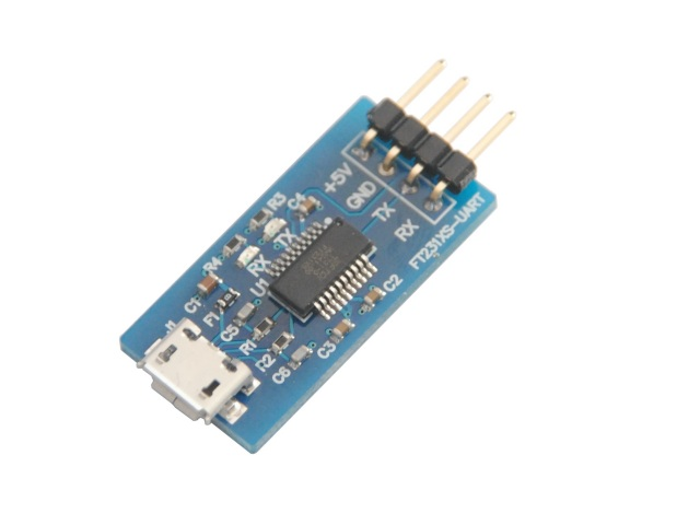 FT231XS使用USBシリアル変換モジュール