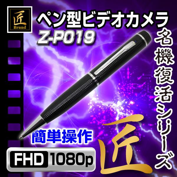 【小型カメラ】ペン型ビデオカメラ(匠ブランド ゾンビシリーズ)『Z-P019』