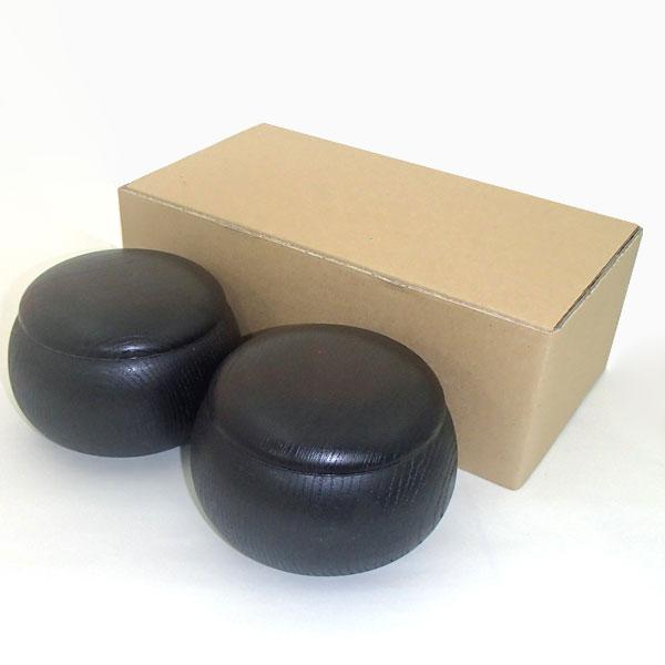 碁笥 プラスチック黒木目彫 特大 在庫一掃特別価格 送料無料