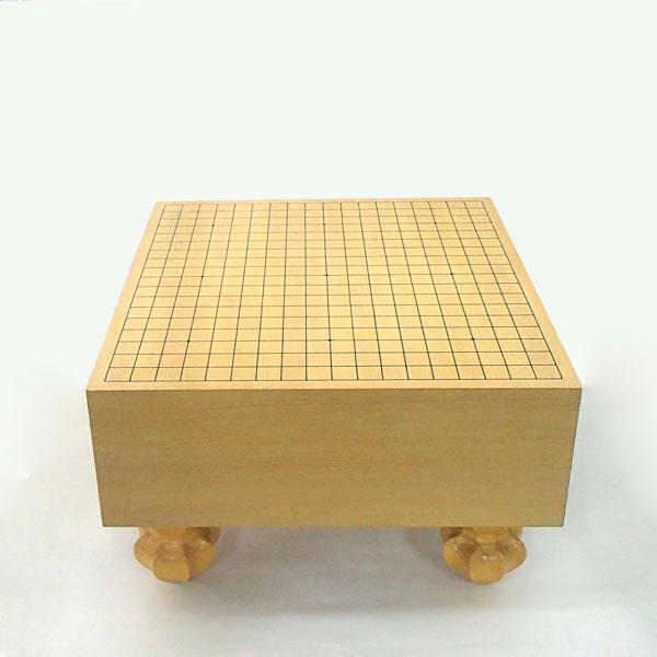 碁盤 環境に配慮して常識を破った エコ五寸足付碁盤