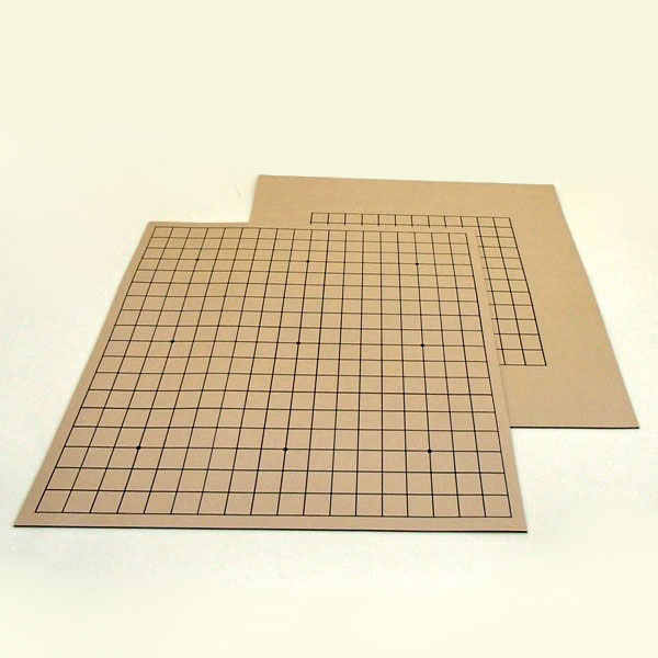 碁盤 ゴム盤の碁盤(13路・19路) 両用盤