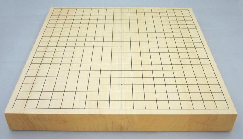 碁盤 ヒバ15号 卓上接合碁盤 竹