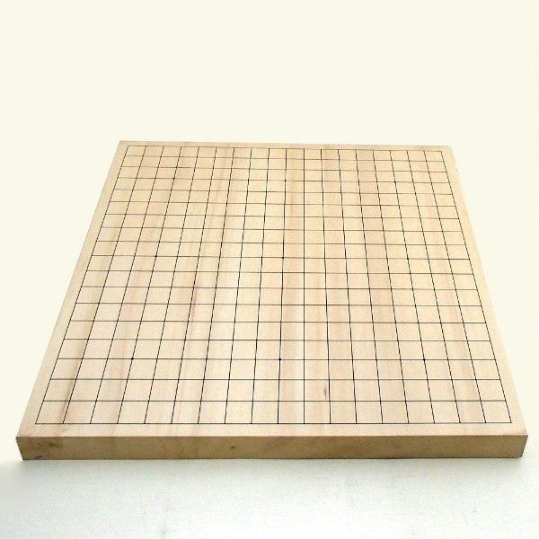 碁盤 ヒバ10号卓上接合碁盤 松竹