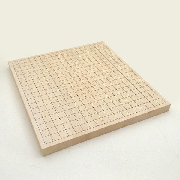 碁盤 ヒバ10号卓上接合碁盤 竹