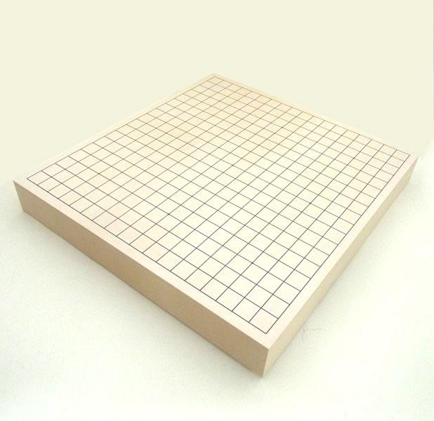 碁盤 ヒバ2寸 卓上接合碁盤 松