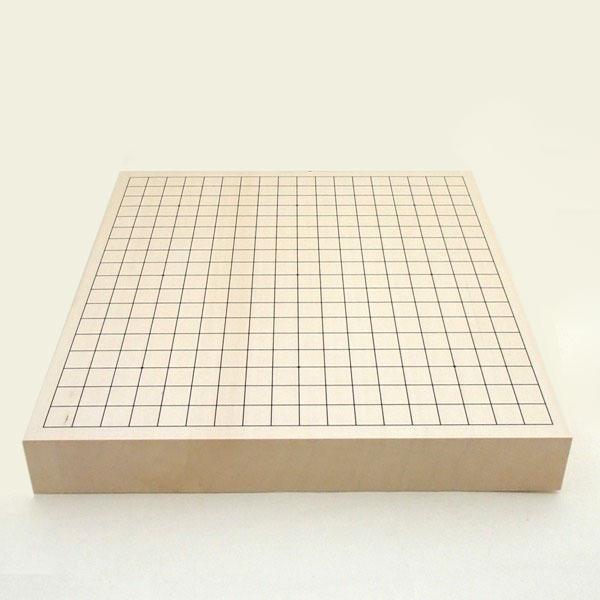 木製碁盤 ヒバ2寸 卓上接合碁盤 竹
