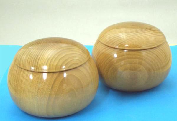 木製碁笥 本桑超特大38号