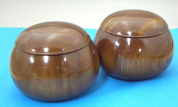 木製碁笥 楠(くす)超特大 38号