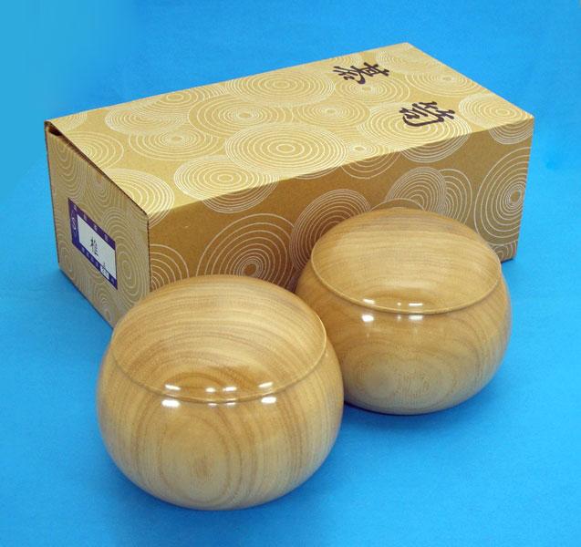 手作木製碁笥 椎(しい)極上 特大36号