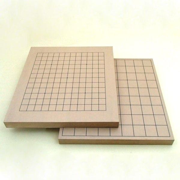 碁盤 新桂10号卓上13路碁盤・将棋両用盤