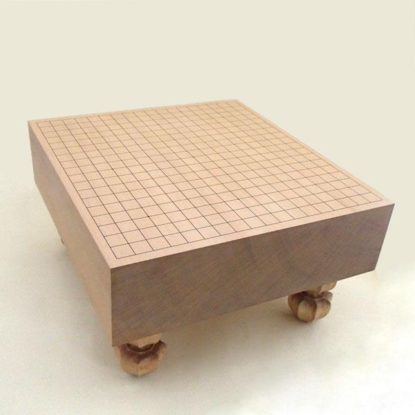 木製碁盤 新桂4寸足付碁盤 竹