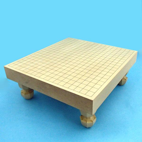 木製囲碁盤 新かや二寸足付接合碁盤 竹